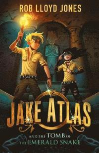 bokomslag Jake Atlas and the Tomb of the Emerald Snake