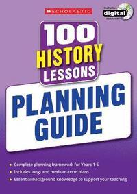 bokomslag 100 History Lessons: Planning Guide