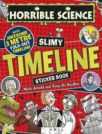 bokomslag Slimy Timeline Sticker Book