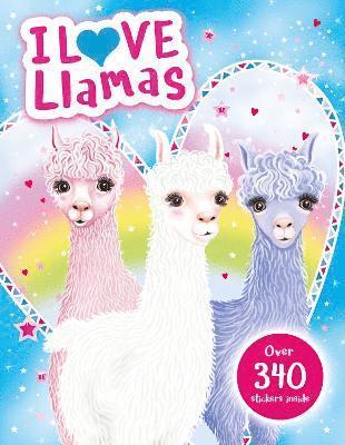 bokomslag I Love Llamas! Activity Book