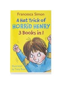 bokomslag A hat trick of Horrid Henry