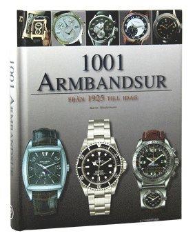bokomslag 1001 armbandsur : från 1925 till idag