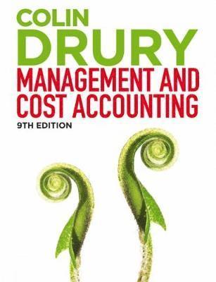 bokomslag Management and Cost Accounting