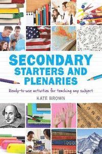 bokomslag Secondary Starters and Plenaries
