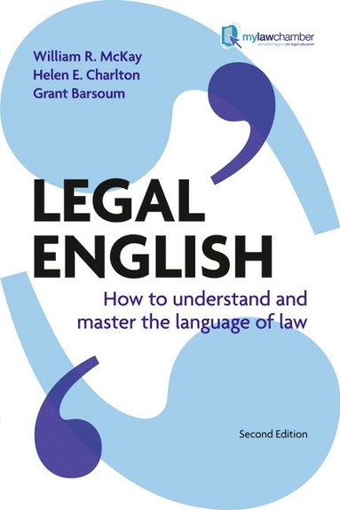 bokomslag Legal english - how to understand and master the language of law