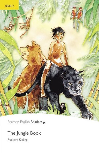 bokomslag Level 2: The Jungle Book and MP3 Pack