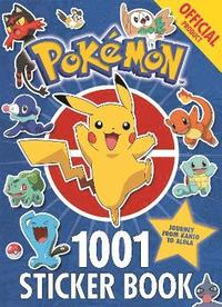 bokomslag The Official Pokemon 1001 Sticker Book