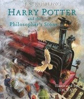 bokomslag Harry Potter and the Philosophers Stone Illustrated Edition