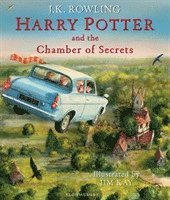 bokomslag Harry Potter and the Chamber of Secrets Illustrated Edition