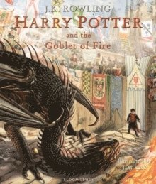 bokomslag Harry Potter and the Goblet of Fire: Illustrated Edition