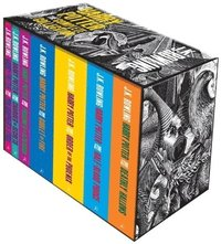 bokomslag Harry potter boxed set: the complete collection adult paperback