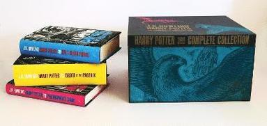 bokomslag Harry Potter Adult Hardback Box Set