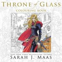 bokomslag The Throne of Glass Colouring Book