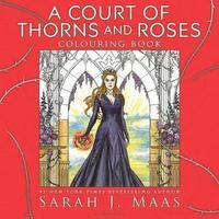 bokomslag A Court of Thorns and Roses Colouring Book