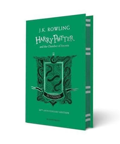bokomslag Harry Potter and the Chamber of Secrets - Slytherin Edition