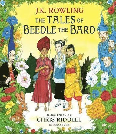 bokomslag The Tales of Beedle the Bard - Illustrated Edition