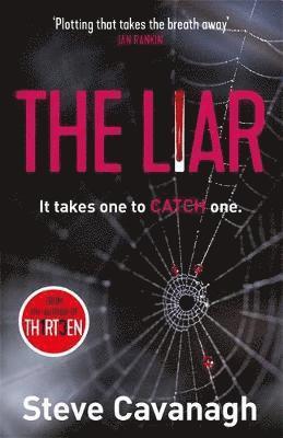 bokomslag The Liar: Eddie Flynn Book 3