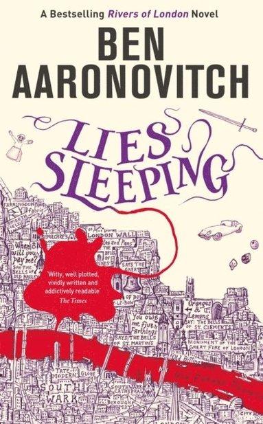 bokomslag Lies Sleeping: The Seventh Rivers of London novel