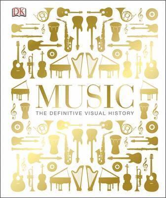 bokomslag Music - the definitive visual history