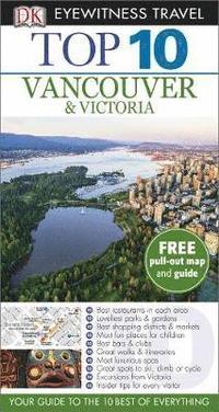 bokomslag Vancouver & Victoria Top 10