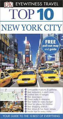 bokomslag DK Eyewitness Top 10 Travel Guide: New York City, 7th Edition