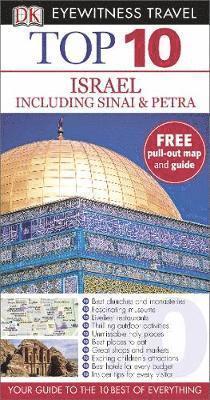 bokomslag Israel, Sinai and Petra Top 10