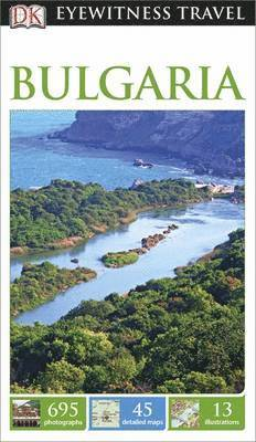 bokomslag DK Eyewitness Travel Guide Bulgaria