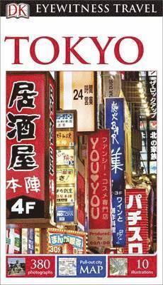 bokomslag DK Eyewitness Travel Guide: Tokyo