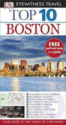 bokomslag DK Eyewitness Top 10 Travel Guide: Boston