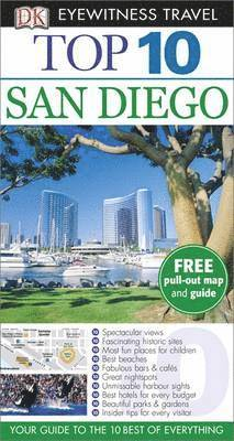 bokomslag San Diego Top 10