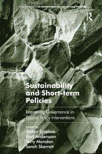bokomslag Sustainability and Short-term Policies