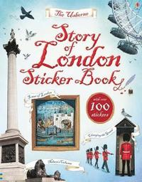 bokomslag Story of London Sticker Book