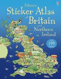 bokomslag Sticker Atlas of Britain and Northern Ireland