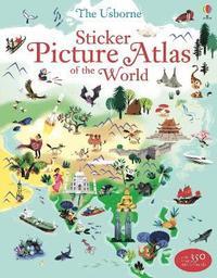 bokomslag Sticker Picture Atlas of the World