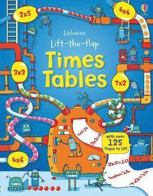bokomslag Lift-the-Flap Times Tables