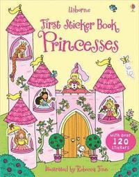 bokomslag First Sticker Book Princesses