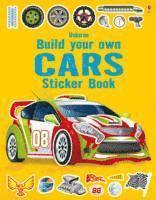 bokomslag Build Your Own Car Sticker Book