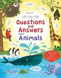 bokomslag Lift-the-flap Questions and Answers About Animals