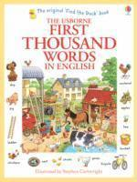 bokomslag First Thousand Words in English