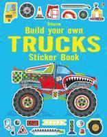 bokomslag Build Your Own Trucks Sticker Book