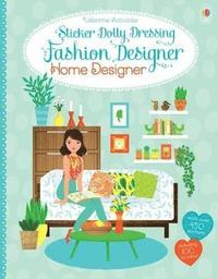 bokomslag Sticker Dolly Dressing Fashion Designer Home Designer
