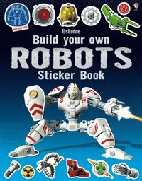 bokomslag Build Your Own Robots Sticker Book