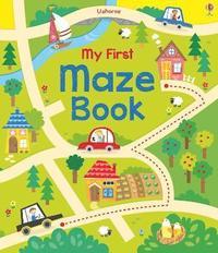 bokomslag My First Maze Book