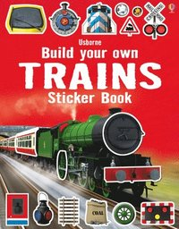 bokomslag Build Your Own Trains Sticker Book