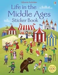 bokomslag Life in the Middle Ages Sticker Book