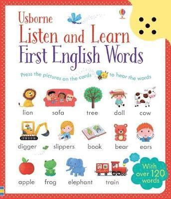 bokomslag Listen and Learn First English Words
