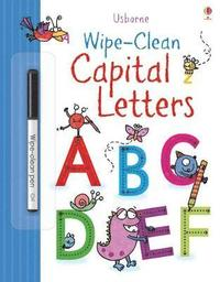 bokomslag Wipe-clean Capital Letters