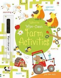 bokomslag Wipe-Clean Farm Activities