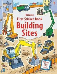 bokomslag First Sticker Book Building Sites