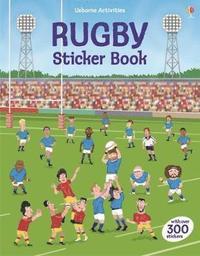 bokomslag Rugby Sticker Book